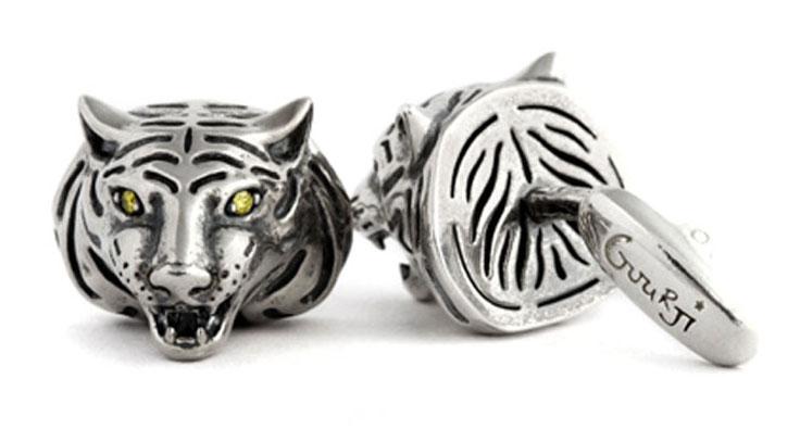 Запонки Gourji «Тигры»
