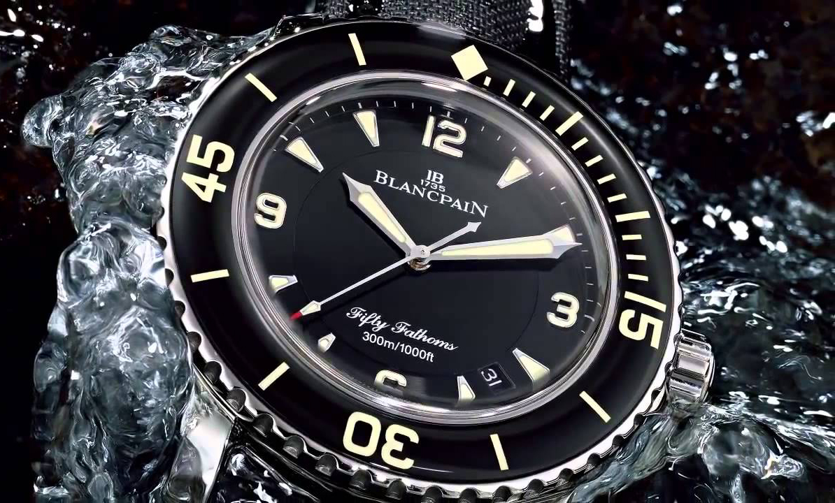 Коллекция часов Blancpain Fifty Fathoms