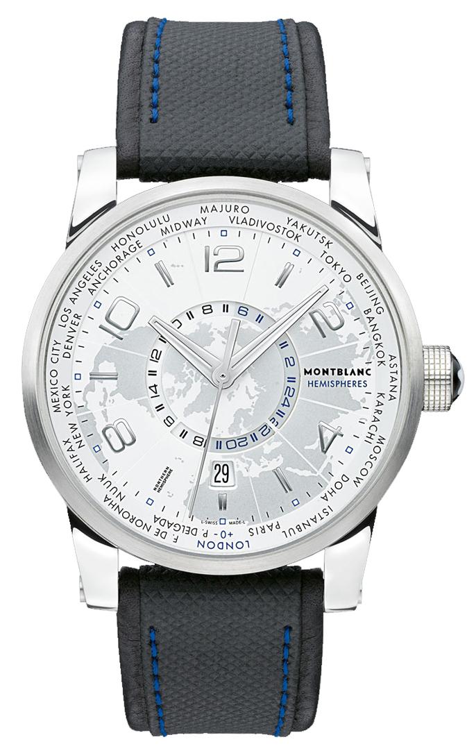 Часы Montblanc TimeWalker World-Time Hemispheres North