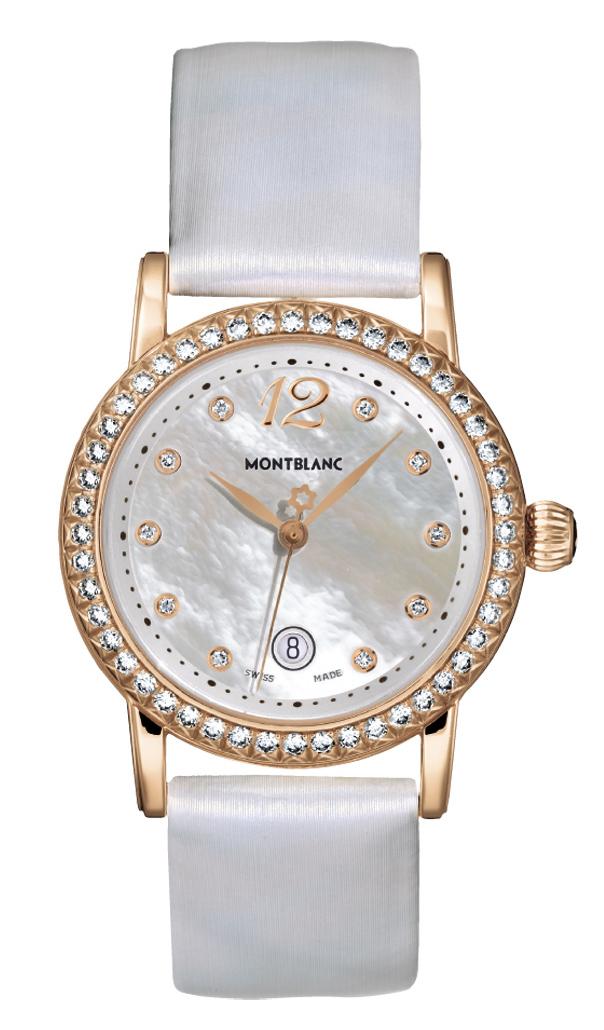 Часы Montblanc MiniStar Red Gold Diamonds