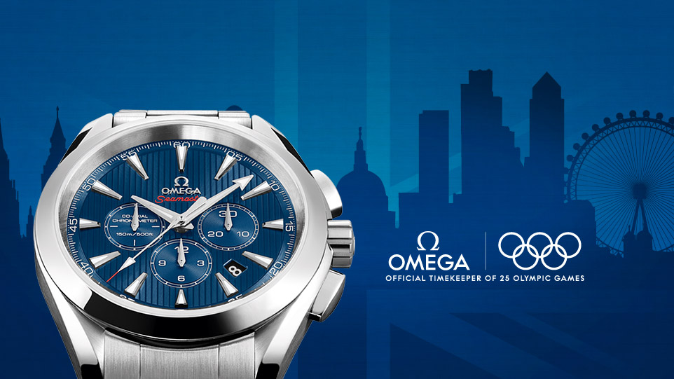 Часы Omega Seamaster Aqua Terra Co-Axial Chronograph