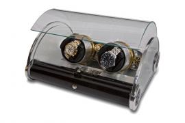 Шкатулка для подзавода часов RAPPORT Time Arc Duo W191