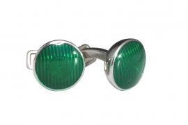 Запонки A.DUNHILL Green Road Light JSX8265K