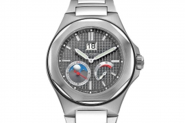 Girard Perregaux Laureato Large Date, Moon Phases, Power Reserve 80185-11-231-11A