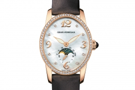Girard Perregaux Cat's Eye Moon Phases 80490D52A761-JKBA