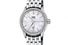 Oris Culture Artelier Date Diamonds 561 7604 4956 LS FC