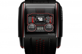 Slyde Sport Black and Red PVAC00S203V1VEA13