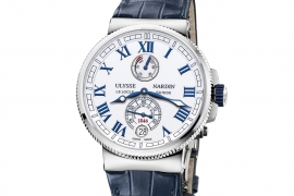 Ulysse Nardin Marine Chronometer Manufacture 43 mm 1183-126/40