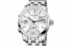 Ulysse Nardin Dual Time Manufacture 3343-126-7/91