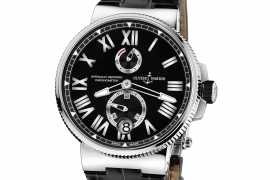 Ulysse Nardin Marine Chronometer Manufacture 1183-122/42