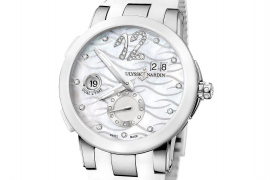 Ulysse Nardin Executive Dual Time Lady 243-10-3/691