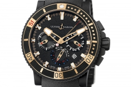Ulysse Nardin Marine Diver Chronograph Black Sea Big Unit 353-95LE-3C