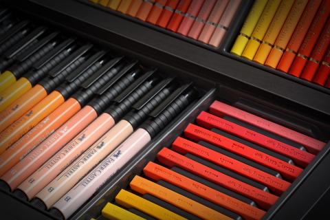 эксклюзивный набор инструментов для рисования Faber-Castell KARLBOX