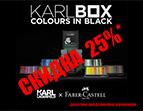 Скидка 25% на эксклюзивный набор инструментов для рисования Faber-Castell KARLBOX!