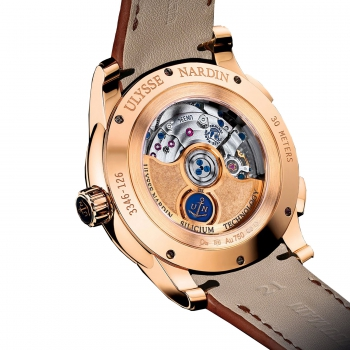 Ulysse Nardin Dual Time Manufacture 3346-126/92