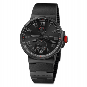 Ulysse Nardin Marine Chronometer Manufacture 1183-122LE-3C/BLACK-BQ