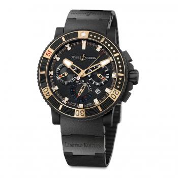 Ulysse Nardin Marine Diver Chronograph Black Sea Big Unit 353-95LE-3C